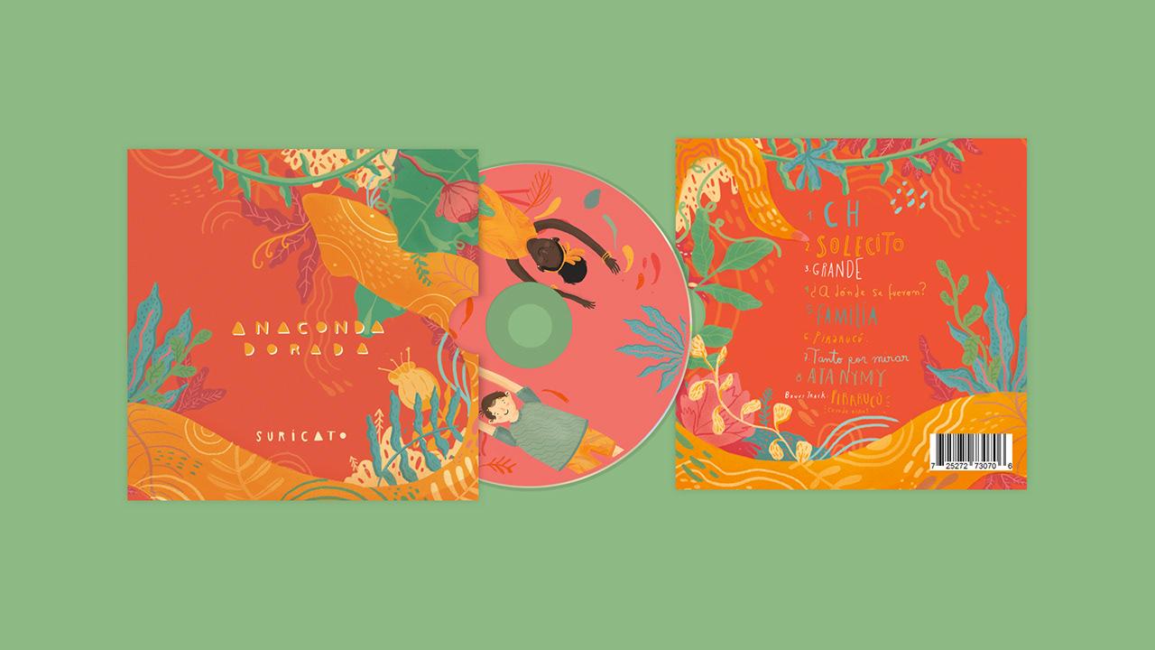 Lanzamiento del disco de la agrupación Suricato, titulado ANACONDA DORADA, que se realizará el domingo 25 de noviembre a las 11:30 a.m. en el Teatro la Libélula Dorada de Bogotá.