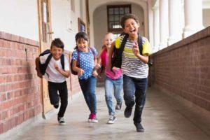 Regreso al colegio: felicidad y seguridad