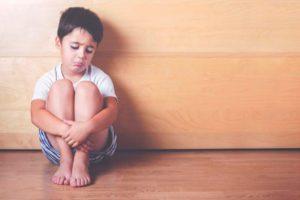 Cómo expresan las tristezas los niños