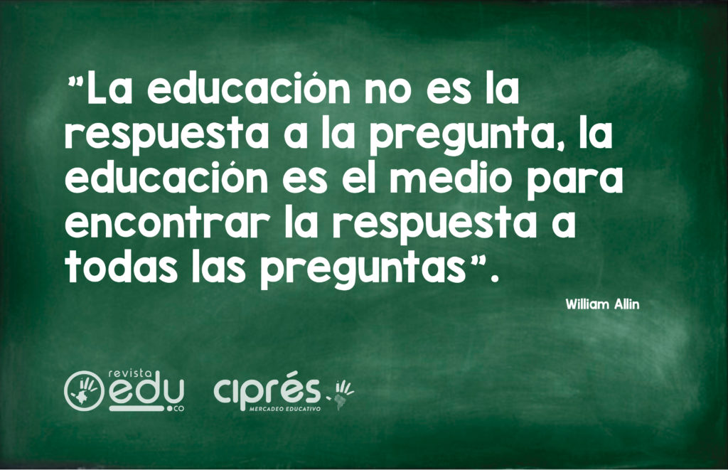 William Allin | Frases de Educación
