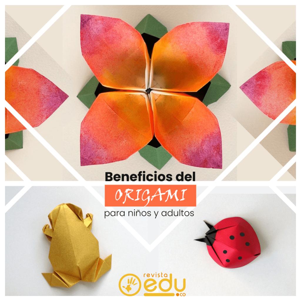 ¿Qué hay más estimulante que despertar nuestros sentidos? …Aprende el arte de Origami, disfruta jugando con colores y formas, calma tu mente y aumenta la salud de tu cerebro