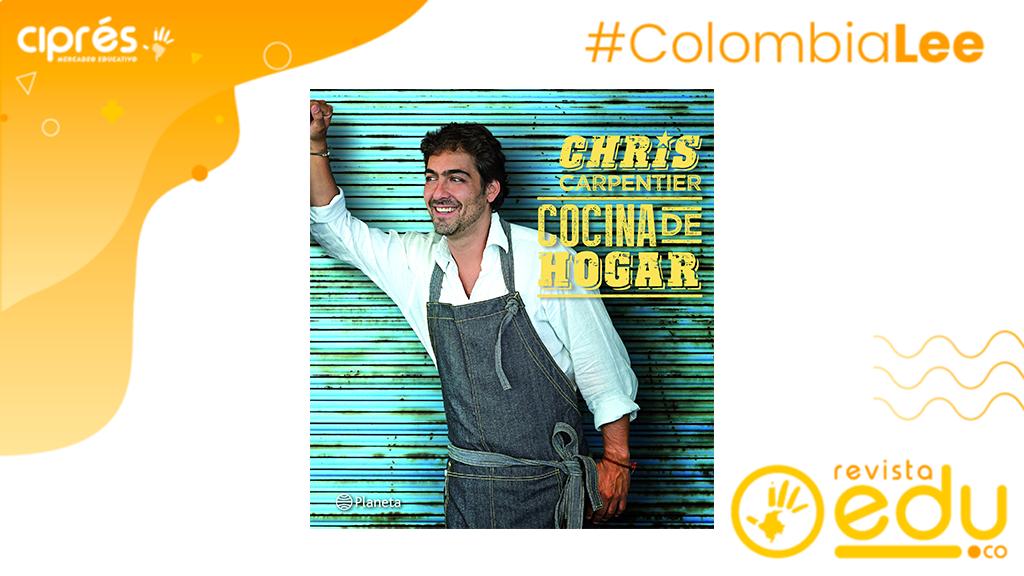 Este libro es un espacio de encuentro, de camaradería y de rica comida. Cocina de hogar, la propuesta de Chris Carpentier, Chef, presentador de televisión y empresario gastronómico chileno.