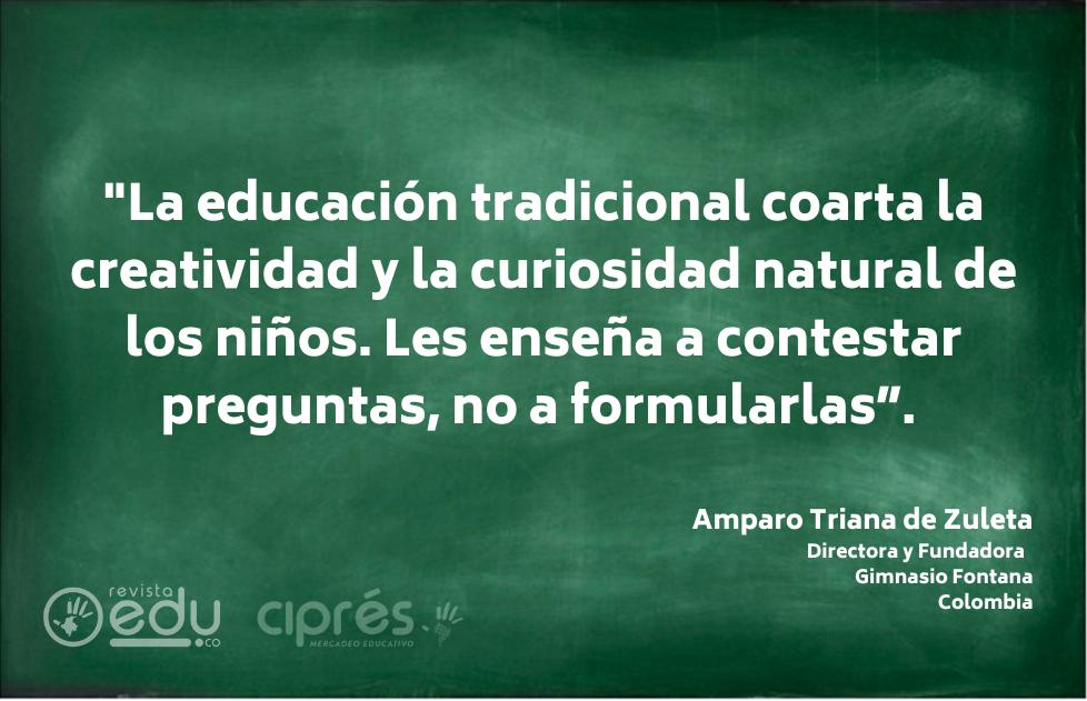 Amparo Triana de Zuleta | Frases de Educación