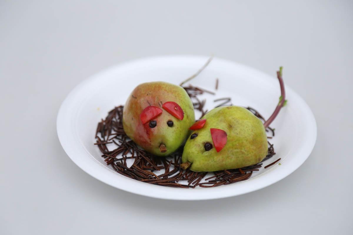 plato con hábitos alimenticios para niños