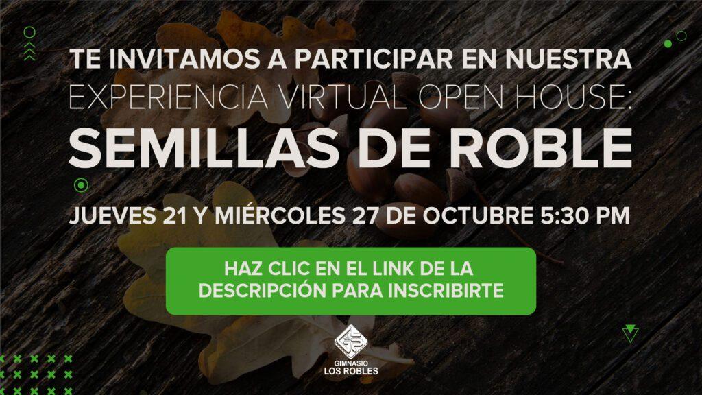 Open House virtual Semillas de Roble 2021
